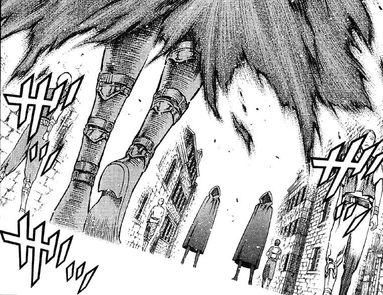 "Claymore Manga Escena 86 ""Una Caja de Tabú"" Tomo 16"