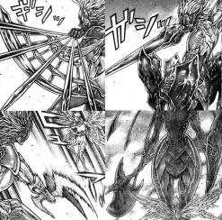 El Hacha, lanza, escudo, arco de Isley